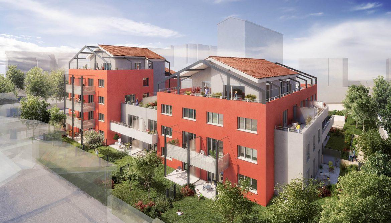 Programme immobilier Villeurbanne (69100) PROCHE COMMERCES/ECOLES ALT22
