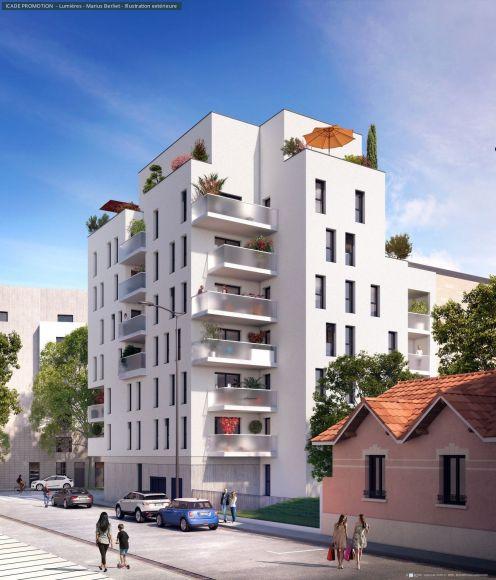 Programme immobilier ICA11 appartement à Lyon 8ème (69008) MONTPLAISIR