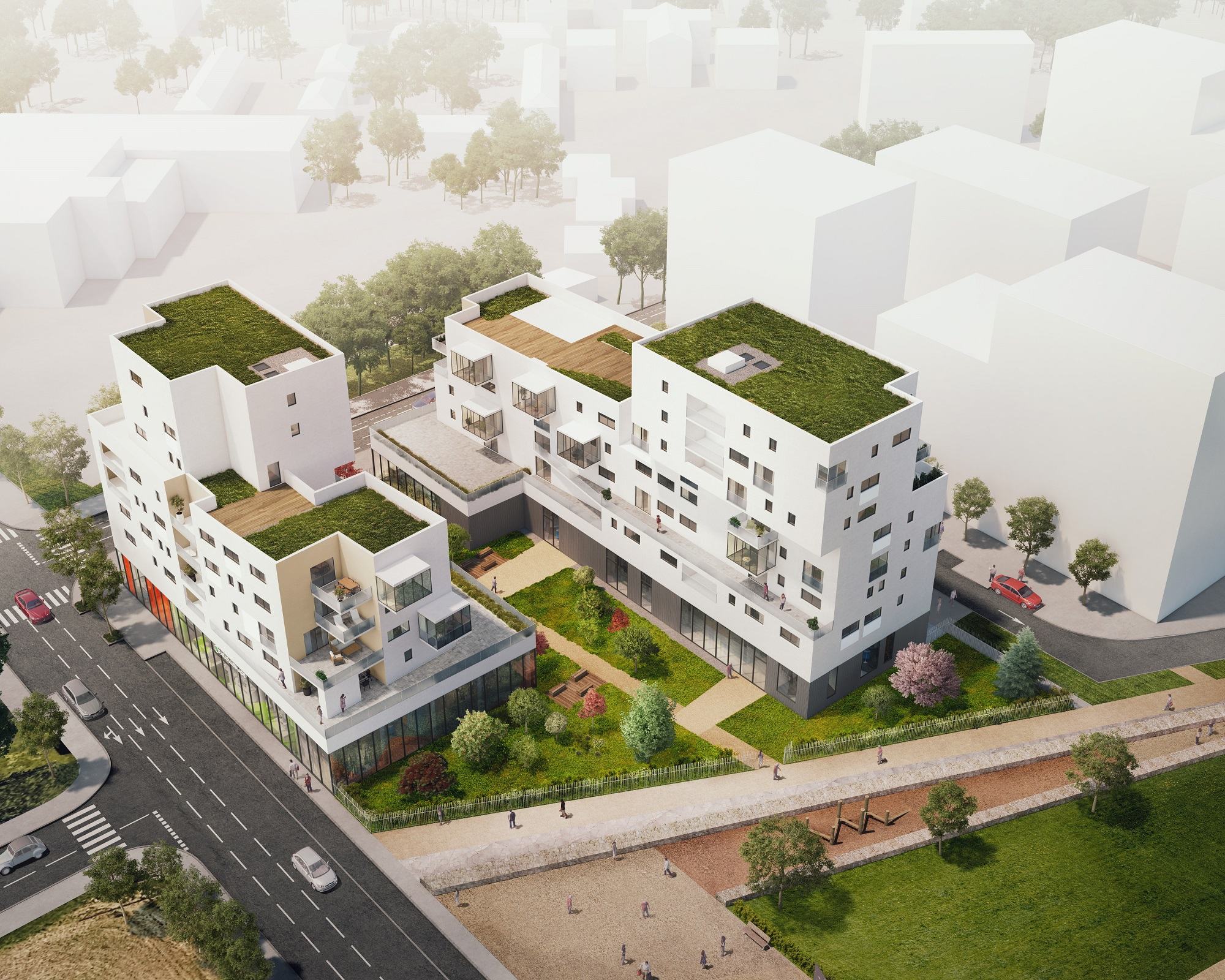 Programme immobilier Vénissieux (69200) GRAND PARILLY EDO20