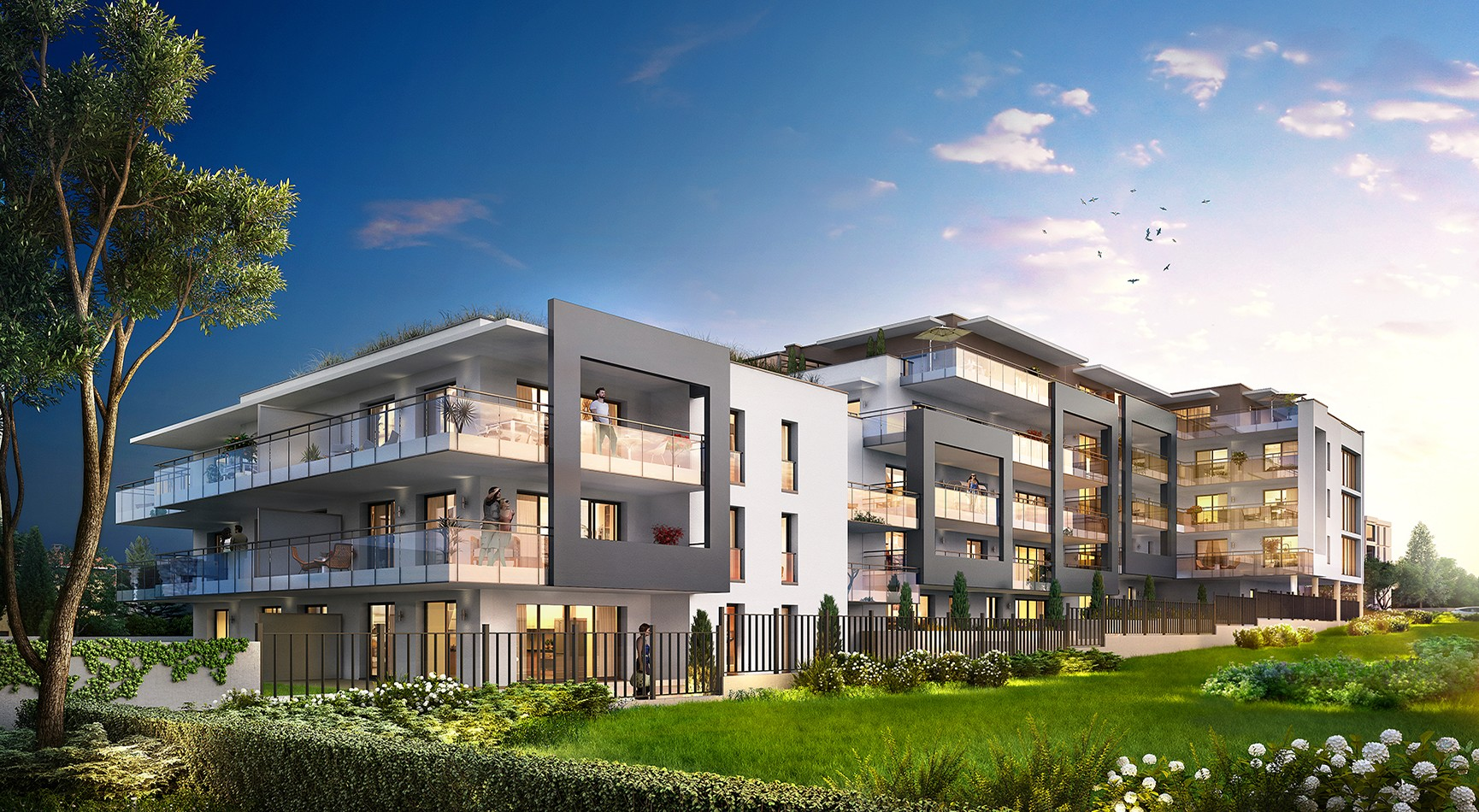 Programme immobilier EQ6 appartement à Caluire (69300)