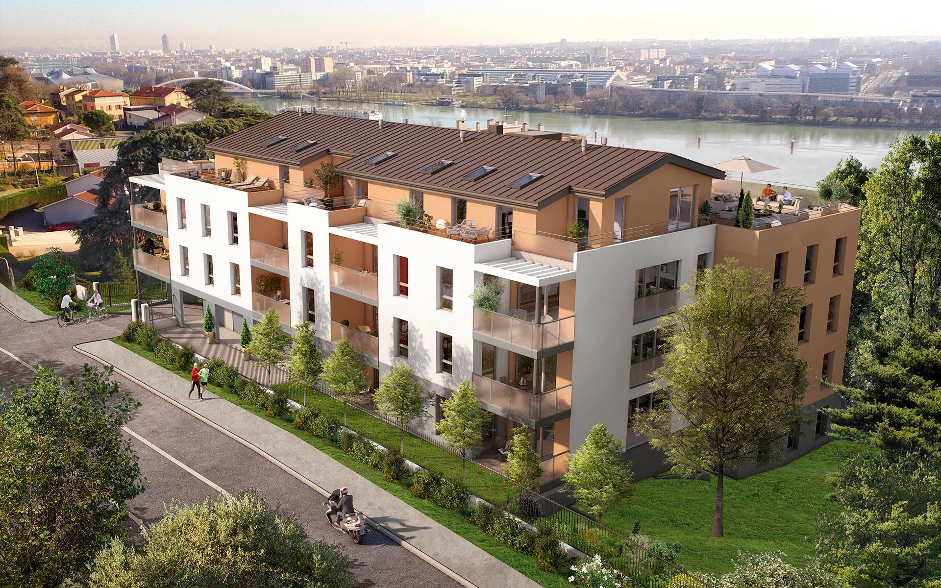 Programme immobilier AJA2 appartement à La Mulatière (69350) LYON LA MULATIERE