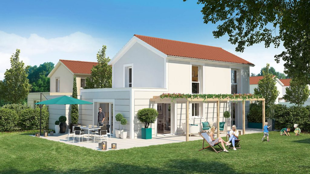 Programme immobilier LNC8 appartement à Saint-Priest (69800)