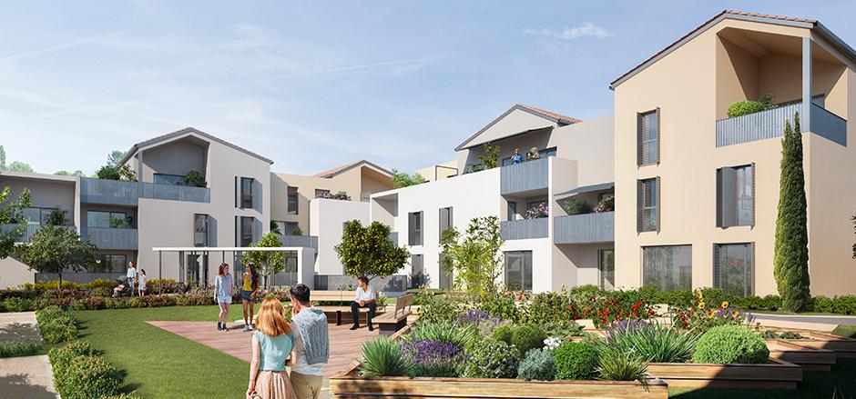 Programme immobilier PI2 appartement à Meyzieu (69330)
