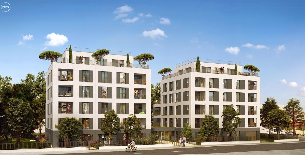 Programme immobilier Villeurbanne (69100)  ICA26