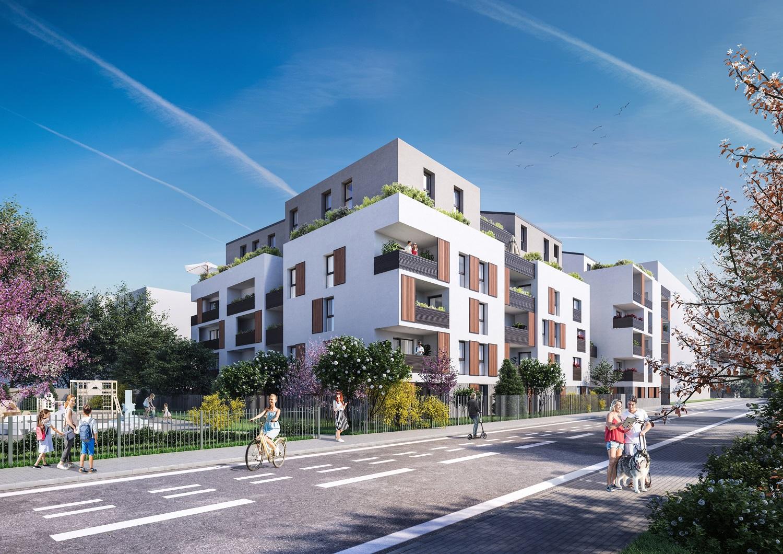 Programme immobilier Villeurbanne (69100) GRATTE CIEL ICA1