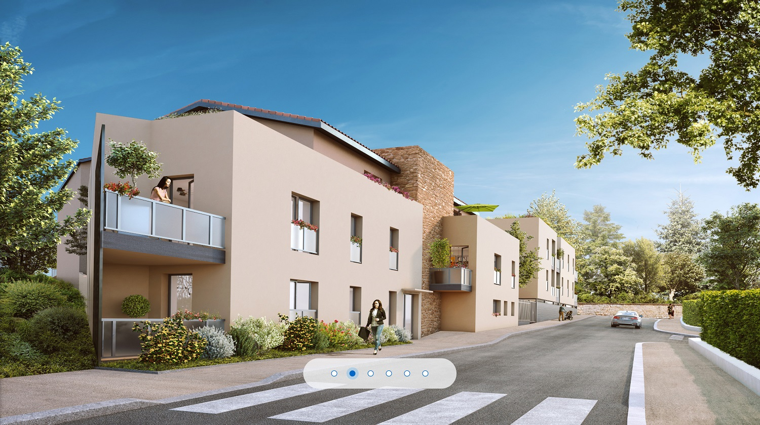 Programme immobilier CO3 appartement à Dardilly (69570)