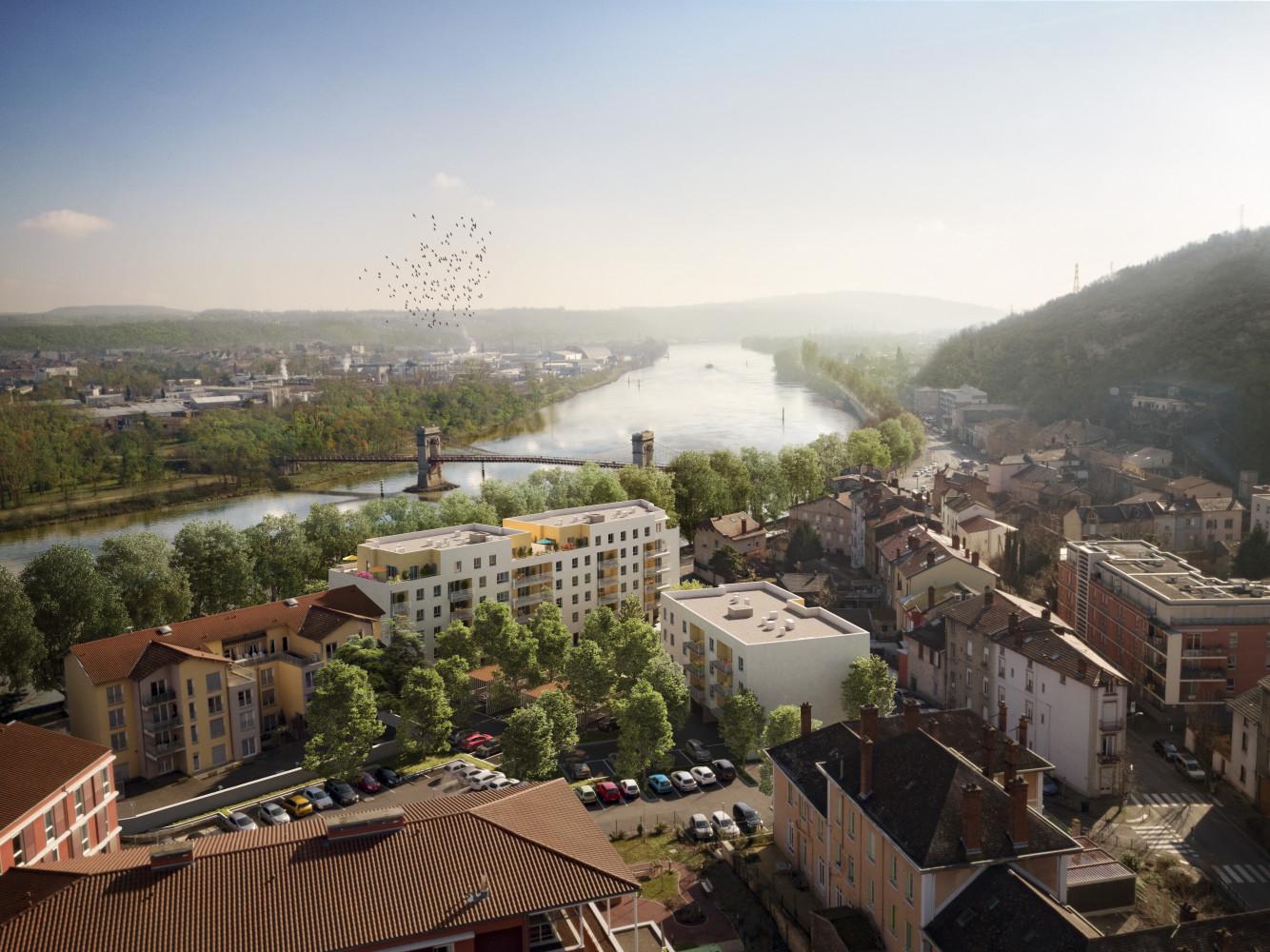 Programme immobilier Givors (69700) PROCHE CENTRE HISTORIQUE VAL11