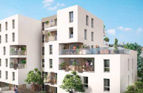 Programme immobilier AJA15 appartement à Villeurbanne (69100) Dans une rue préservée de l'agitation du quartier des Charpennes