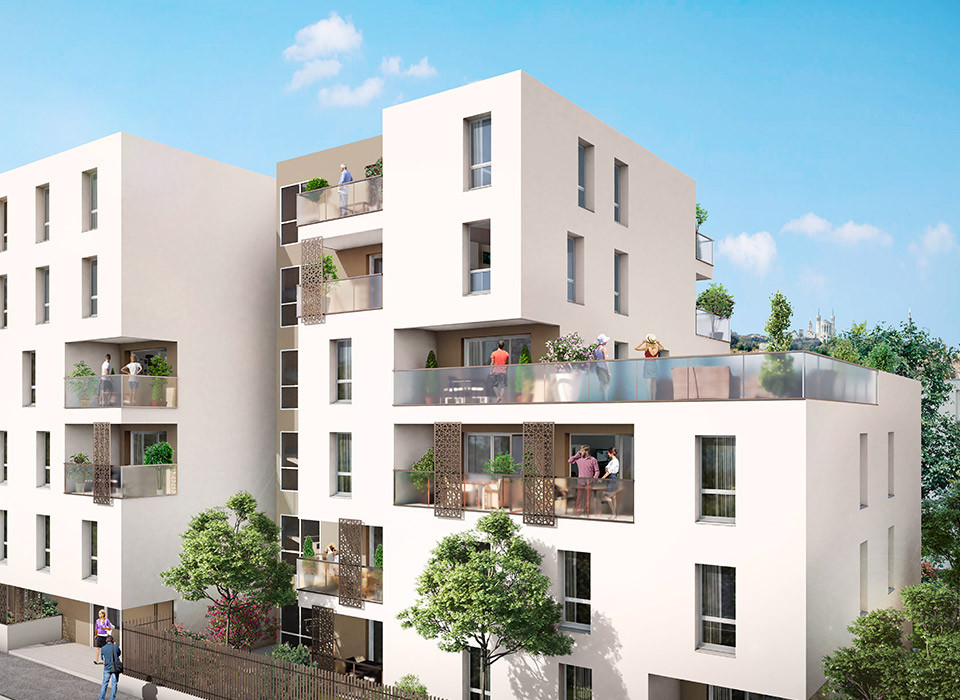 Programme immobilier VIN3 appartement à Villeurbanne (69100)