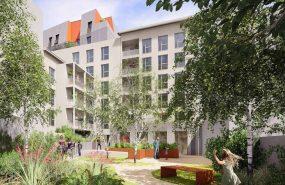 Programme immobilier AJA5 appartement à Villeurbanne (69100)