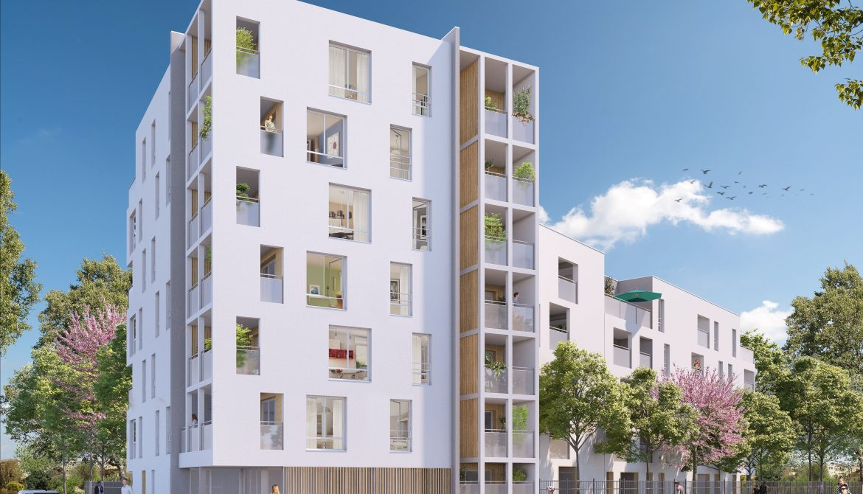 Programme immobilier Vaulx-en-Velin (69120) CARRE DE SOIE NP15