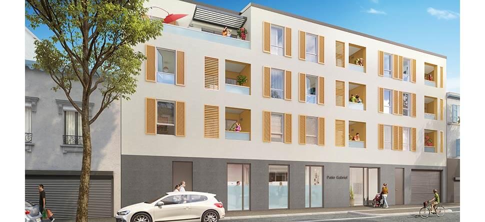 Programme immobilier Saint-Fons (69190)  CO2