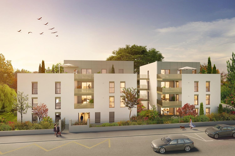 Programme immobilier AJA6 appartement à Sainte-Foy-les-Lyon (69110)