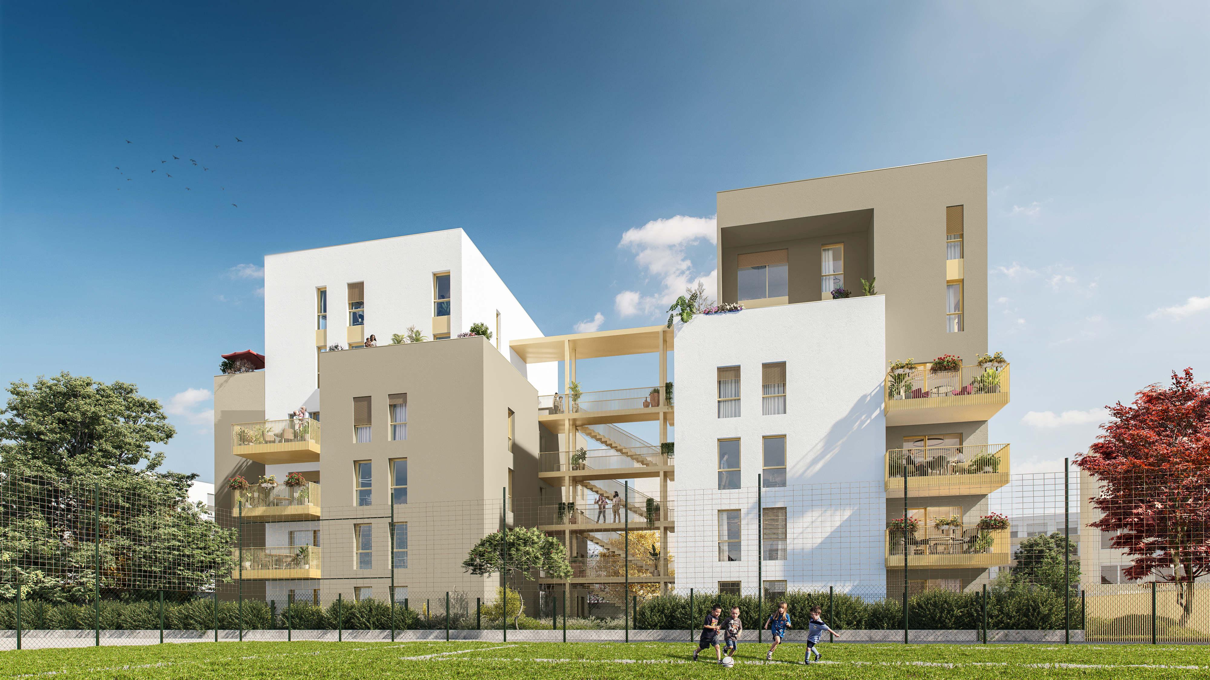 Programme immobilier ICA3 appartement à Lyon 8ème (69008)