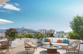 Programme immobilier QUA2 appartement à Marseille 10ème (13010) Quartier St-Tronc