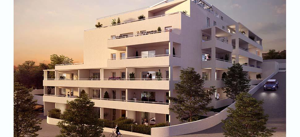 Programme immobilier Marseille 12ème (13012) Aux Caillols URB15