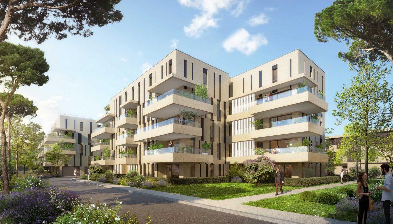 Programme immobilier Marseille 8ème (13008) Bordé par le Parc Borély EDE3