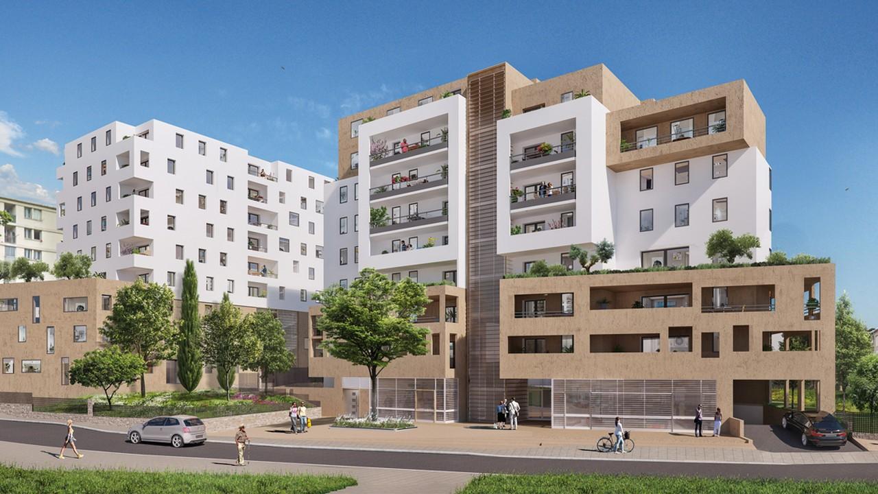 Programme immobilier URB15 appartement à Marseille 12ème (13012) Beaumont