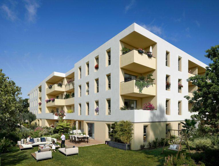 Programme immobilier Marseille 13ème (13013) Au cœur d'un quartier résidentiel PI16