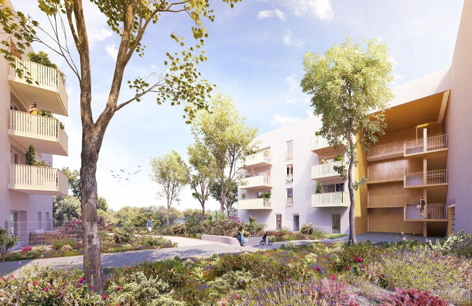 Programme immobilier Saint-Priest (69800) Environnement Verdoyant et Calme QUA5
