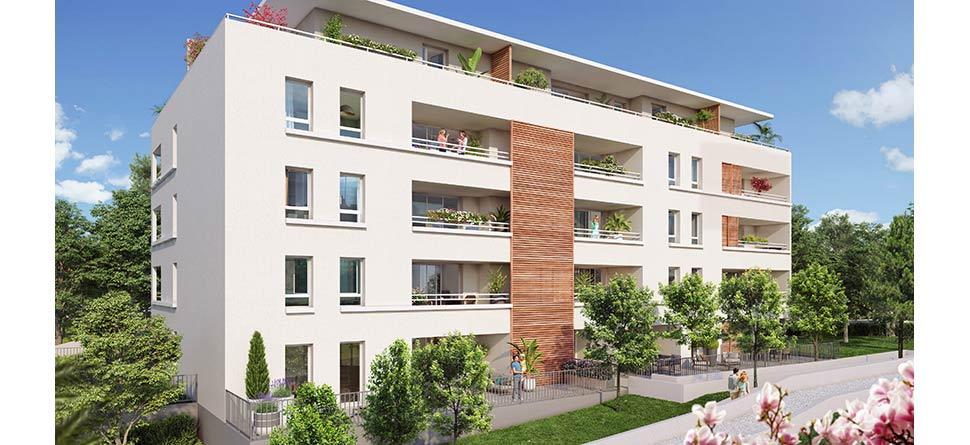 Programme immobilier VAL101 appartement à Marseille 12ème (13012) Aux Caillols