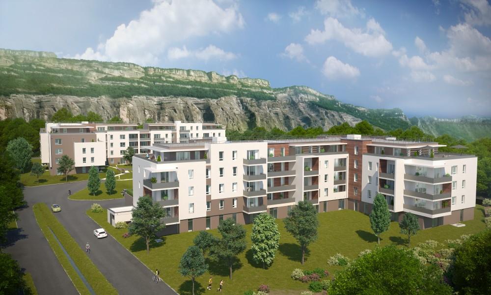 Programme immobilier CAP7 appartement à Meylan (38240) Centre Ville