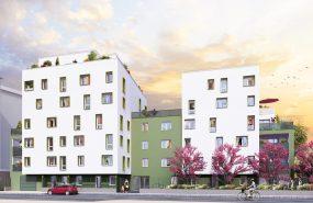 Programme immobilier NP22 appartement à Villeurbanne (69100) Au Sud de Villeurbanne