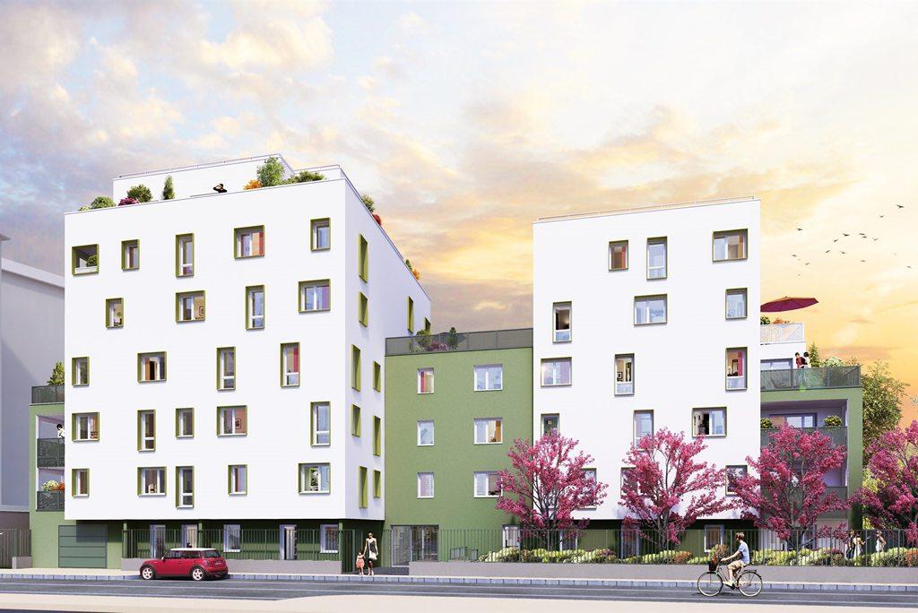 Programme immobilier Villeurbanne (69100) Au Sud de Villeurbanne NP23