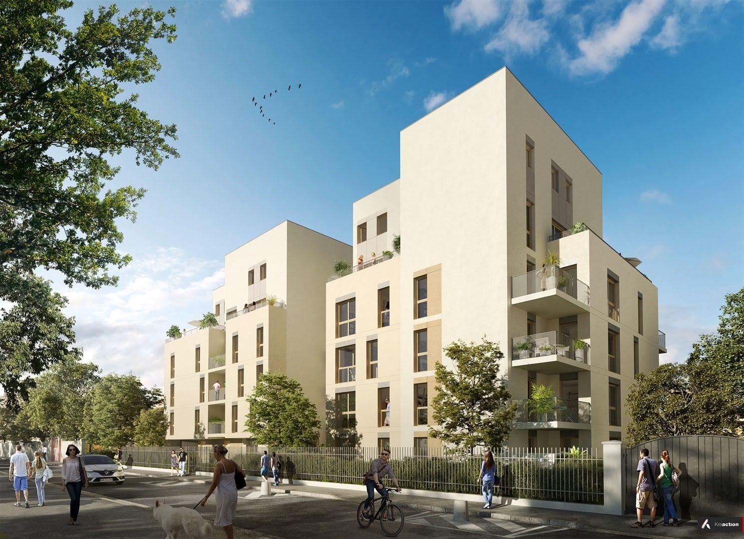 Programme immobilier NP19 appartement à Lyon 8ème (69008) Au Coeur du 8ème Arrondissement