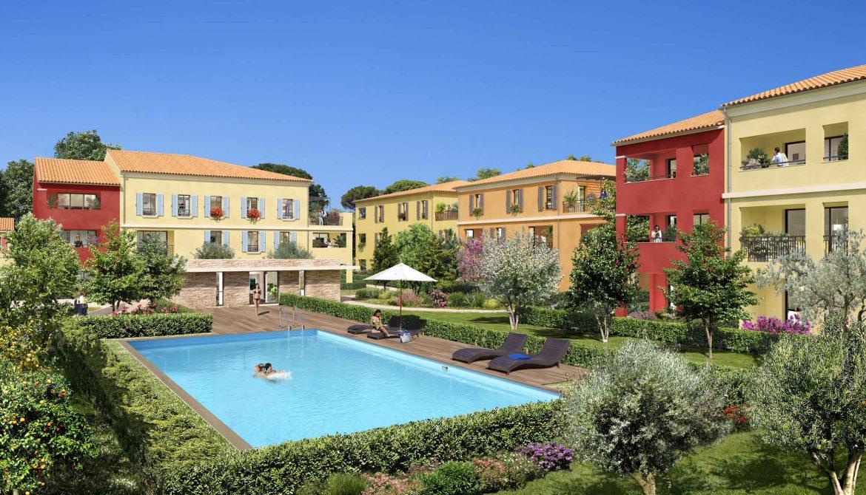 Programme immobilier Aix-En-Provence (13100) Quartier de La Duranne URB21