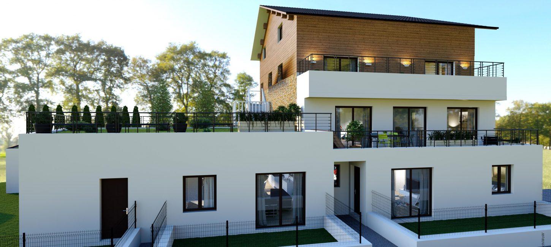 Programme immobilier VAL65 appartement à Saint-Cergues (74140) Proche du Centre Ville