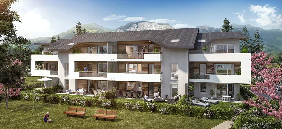 Programme immobilier Saint Pierre En Faucigny (74800) Centre Ville VAL67