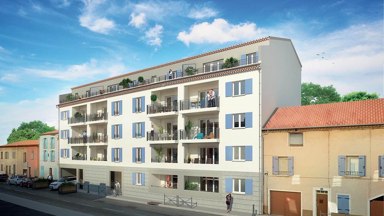 Programme immobilier URB6 appartement à La Crau (83260) Plein Centre