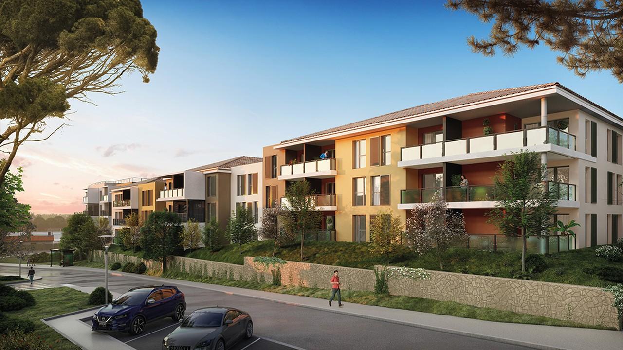 Programme immobilier URB5 appartement à Draguignan (83300) Centre Ville
