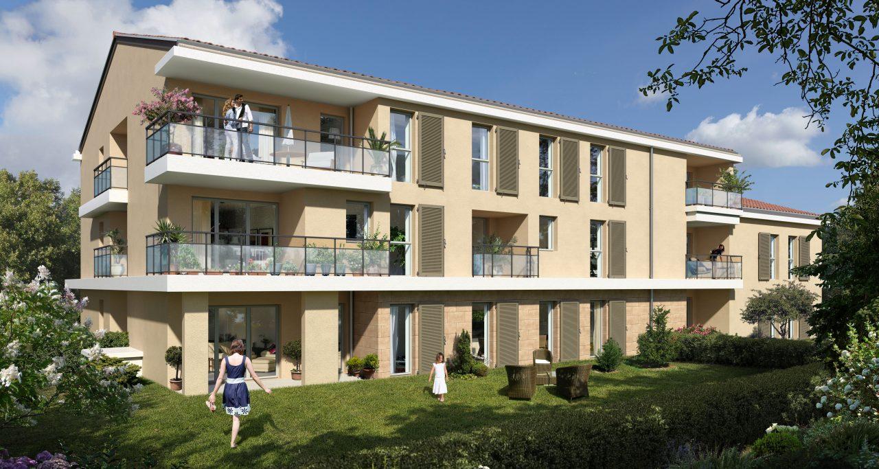 Programme immobilier LNC12 appartement à Aix-En-Provence (13100) Village de Puyricard