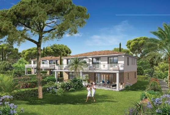 Programme immobilier Sainte Maxime (83120) Aux Pieds des Plages EQ8