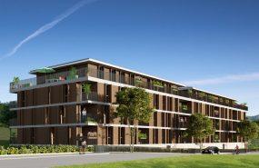 Programme immobilier ALT76 appartement à Lapenne Sur Huveaune (13821) Résidence située en centre ville