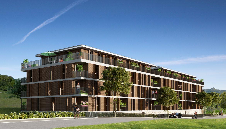 Programme immobilier Lapenne Sur Huveaune (13821) Résidence située en centre ville Investissez en loueur meublé avec Answer Immobilier