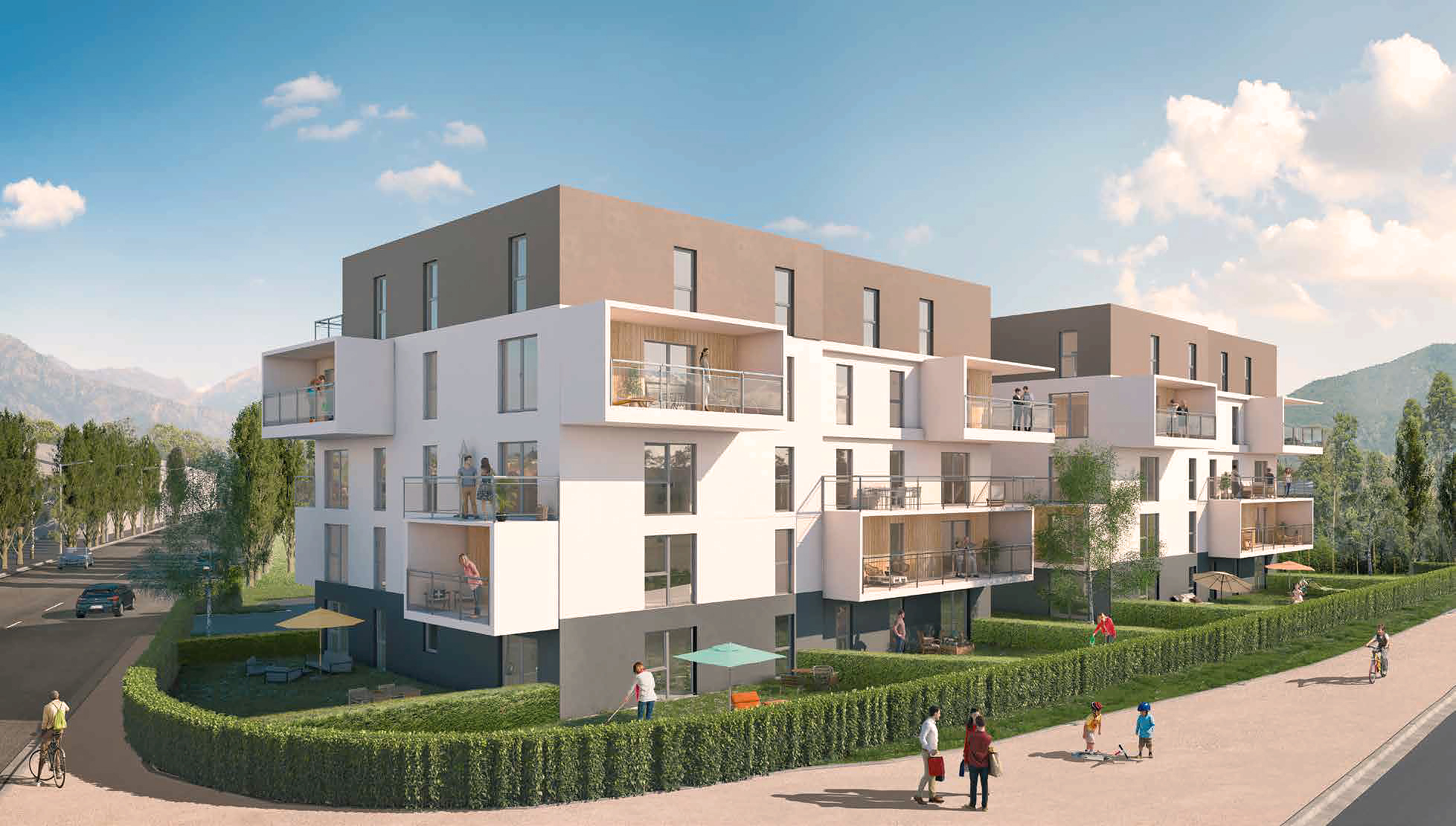 Programme immobilier CO11 appartement à Cluses (74300) Proche Centre Ville