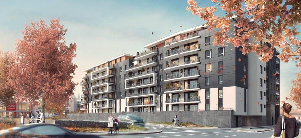 Programme immobilier Thonon les Bains (74200) En Plein Centre Ville ICA13
