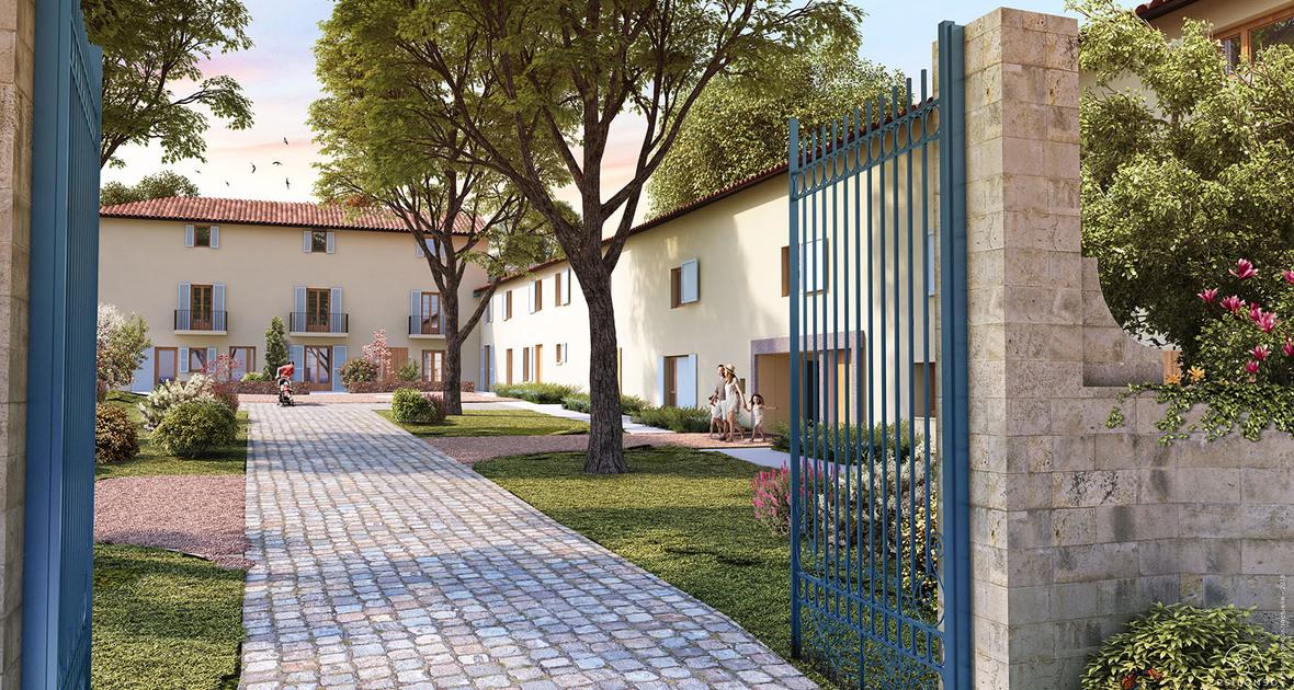 Programme immobilier Tassin-la-Demi-Lune (69160) Plein Coeur du Parc Arboré NP1