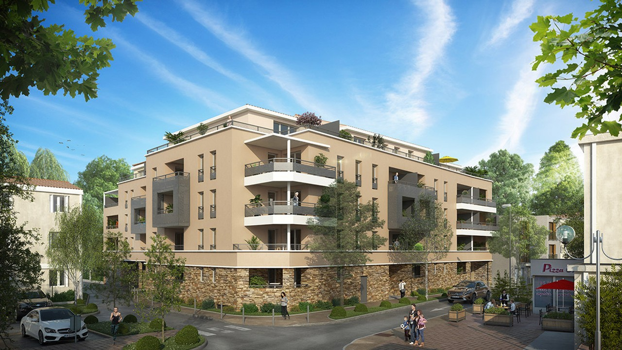 Programme immobilier Six Fours Les Plages (83140) Plein Centre Ville Investissez en loueur meublé avec Answer Immobilier