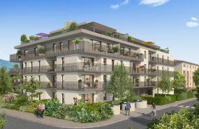 Programme immobilier VAL125 appartement à Ambilly (74100) Un quartier vert et ouvert