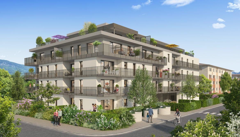 Programme immobilier Ambilly (74100) Quartier Pavillonnaire LNC19