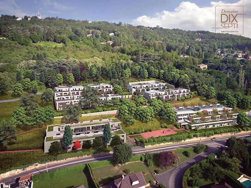 Programme immobilier SP4 appartement à Saint-Cyr-au-Mont-d-Or (69450) Vues exceptionnelles sur le Mont-Blanc