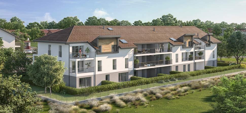 Programme immobilier VAL67 appartement à Saint Pierre En Faucigny (74800) Centre Ville