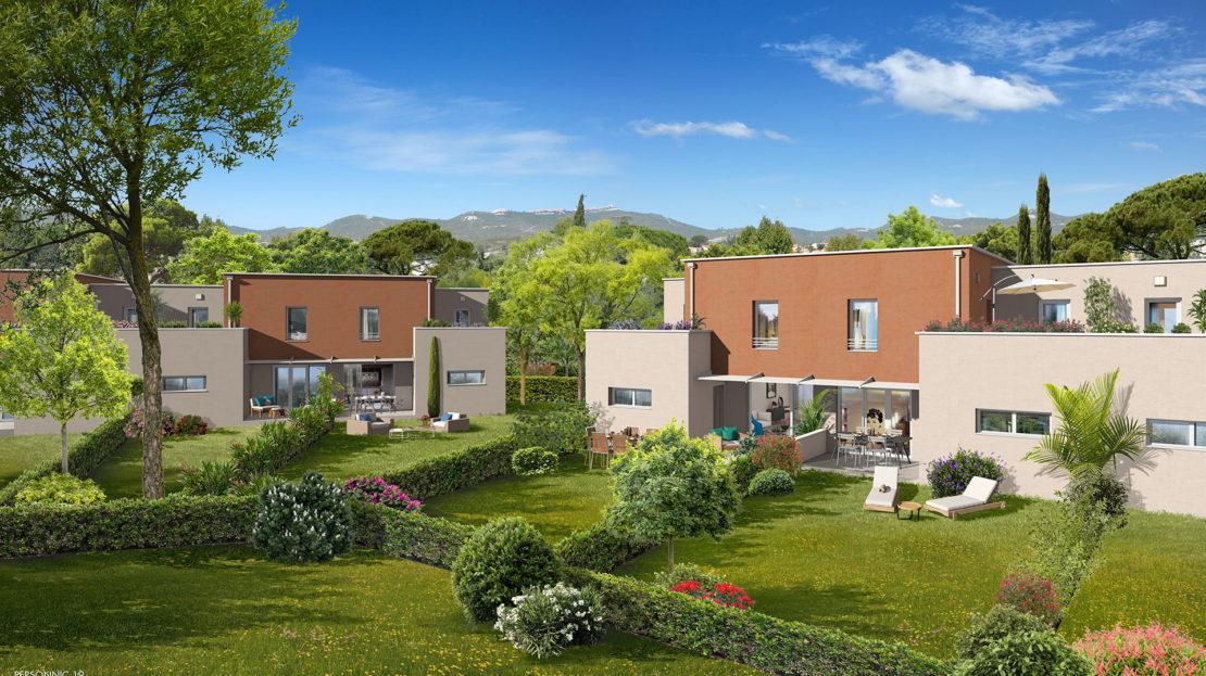Programme immobilier VAL90 appartement à Istres (13800) Environnement Préservé et Verdoyant