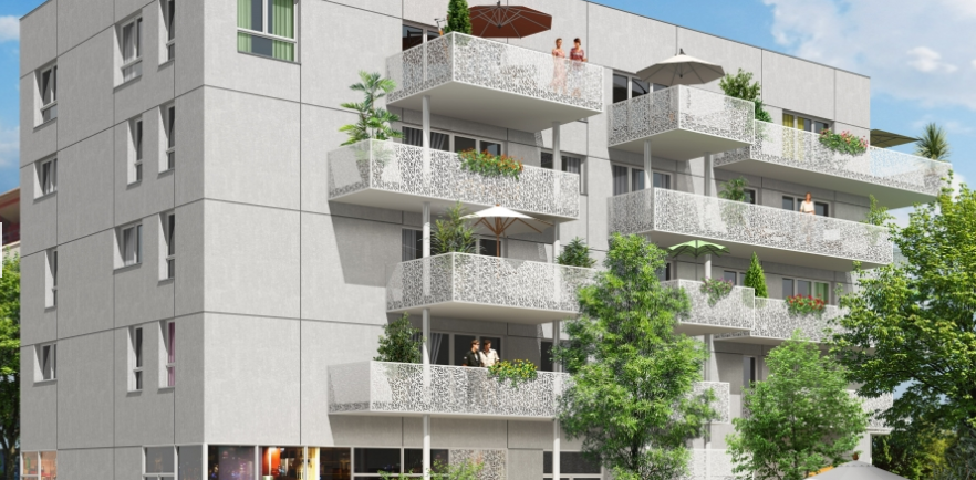 Programme immobilier Décines (69150) CENTRE VILLE LNC4
