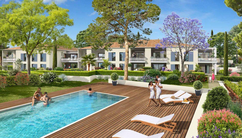 Programme immobilier ALT47 appartement à Ollioules (83190) Cadre de Vie Résidentiel et Naturel