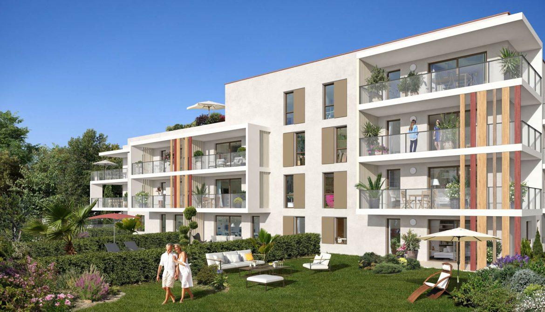 Programme immobilier Frejus (83600) Enveloppés de Jardins Verdoyants ALT56